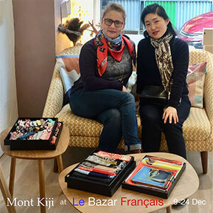 Mont Kiji pop up at le bazar français for Christmas